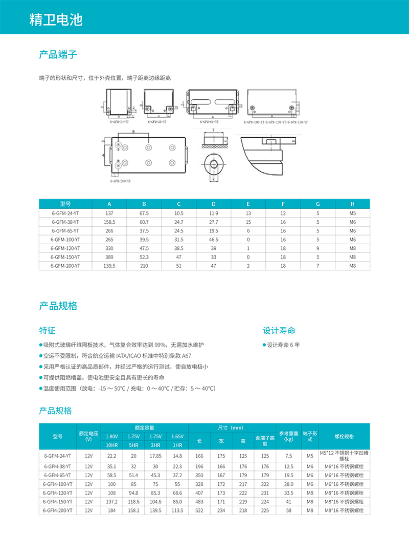 科华UPS电源-科华蓄电池系列